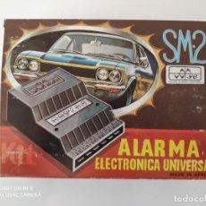 Coches y Motocicletas - Alarma electrónica universal de Sistemas de Sonido y Electrónica (Biar) Made in Spain NUEVA - 148372734
