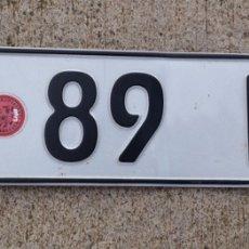 Coches y Motocicletas - MATRÍCULA. Nueva - 148605549