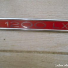 Voitures et Motocyclettes: INSIGNIA EMBLEMA PLÁSTICO 1200 LX SIMCA.. Lote 201360122