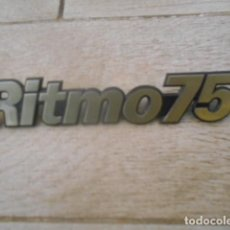 Coches y Motocicletas: INSIGNIA EMBLEMA PLÁSTICO RITMO 75 .. Lote 194237298