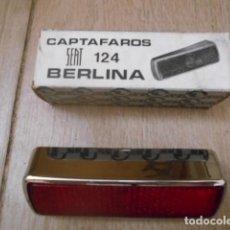 Coches y Motocicletas: REFLEX GEMO SEAT 124 BERLINA PLÁSTICO CROMADO .. Lote 190724531