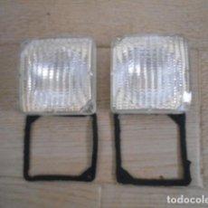 Coches y Motocicletas: REFLECTOR RINDER TRANSPARENTES CON JUNTA 8 CM LARGO 8 CM ALTO .. Lote 149383806