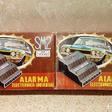 Coches y Motocicletas - ALARMA ELECTRONICA UNIVERSAL DE SISTEMAS DE SONIDO Y ELECTRONICA FABRICADAS EN BIAR * SIN USO * - 150633022