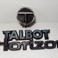 Coches y Motocicletas: INSIGNIAS TALBOT HORIZON. Lote 151549514