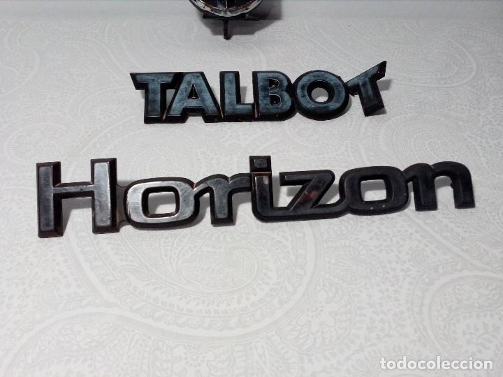 Coches y Motocicletas: INSIGNIAS TALBOT HORIZON - Foto 4 - 151549514