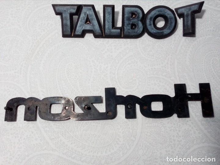 Coches y Motocicletas: INSIGNIAS TALBOT HORIZON - Foto 6 - 151549514
