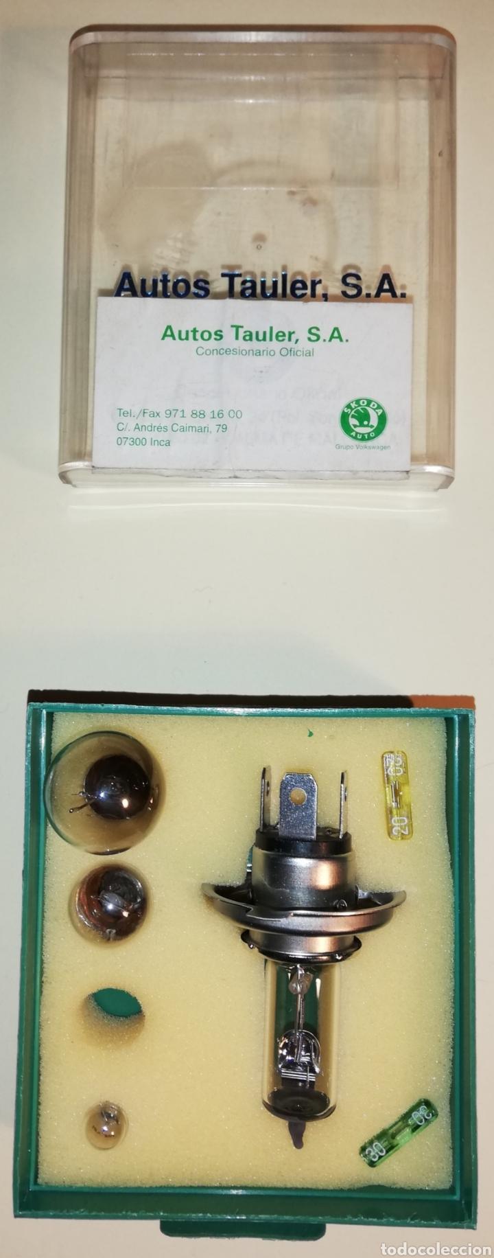 Coches y Motocicletas: Caja repuesto bombillas SKODA Octavia - Foto 2 - 151660717