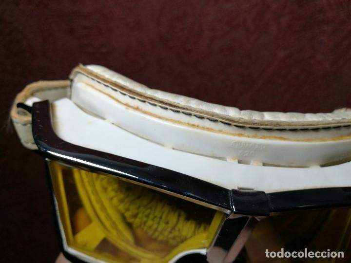 Coches y Motocicletas: gafas motorista motociclismo piloto climax AÑOS 60-70 .BLANCAS Y CRISTAL AMARILLO.MODEL .520..raro ! - Foto 20 - 151688502