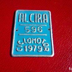Coches y Motocicletas: CHAPA TROQUELADA: MOTO. Lote 152932518