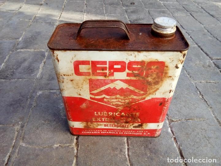 LATA ACEITE CEPSA (Coches y Motocicletas - Repuestos y Piezas (antiguos y clásicos))