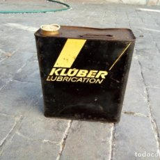 Coches y Motocicletas: LATA ACEITE KLUBER. Lote 153833786