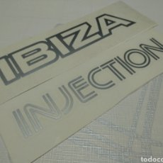Coches y Motocicletas: PACK SEAT IBIZA INJECTION. Lote 154213001
