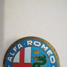 Coches y Motocicletas: LOGOTIPO ESCUDO ALFA ROMEO MILANO. Lote 154341042