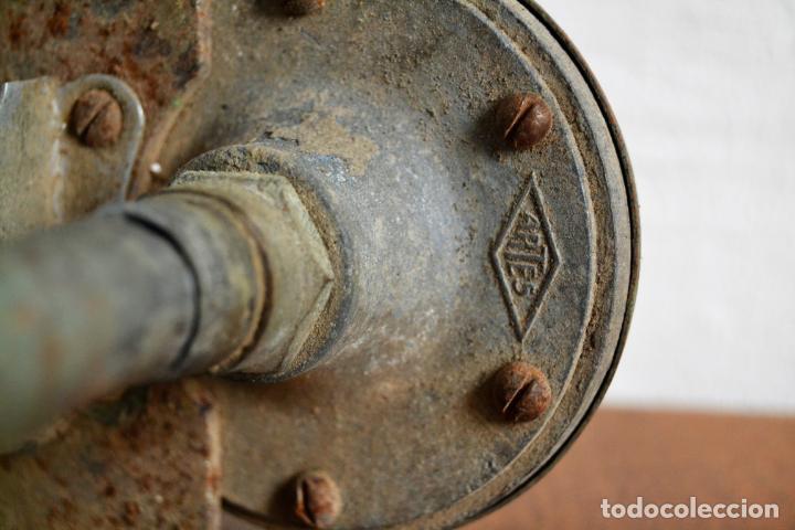 Coches y Motocicletas: TRIPLE BOCINA ASPIRACIÓN MODELO G103 FABRICADO POR JOSÉ ARTÉS DE ARCOS * CLAXON * 46CM - Foto 4 - 154921446