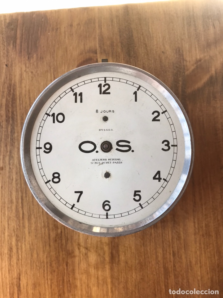Coches y Motocicletas: Reloj de un coche antiguo - Foto 4 - 156986586