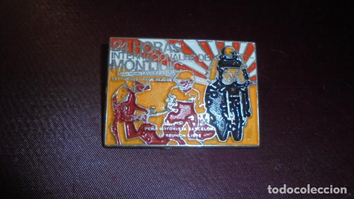 CHAPA 24 HORAS INTERNACIONALES DE MONTJUIC XXX EDICION 1984 PEÑA MOTORISTA BARCELONA (Coches y Motocicletas - Repuestos y Piezas (antiguos y clásicos))