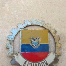 Coches y Motocicletas: PLACA - EMBLEMA DE COCHE ECUADOR. Lote 157258992