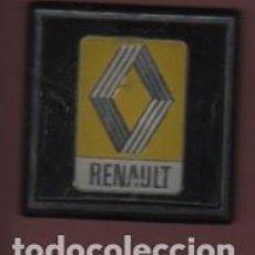 Coches y Motocicletas: CHAPA O PLACA DEL COCHE - REANAULT - ADHESIVA . Lote 158133414