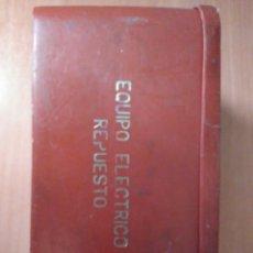 Coches y Motocicletas: EQUIPO ELÉCTRICO SEAT 1430. Lote 158649766