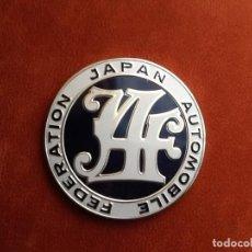 Coches y Motocicletas: FEDERACION JAPONESA DEL AUTOMOVIL. ENVIO CERTIFICADO INCLUIDO.. Lote 159997054