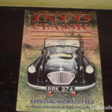 Coches y Motocicletas: INFO CLÀSSIC Nº 38 MAYO DEL 2001 -. Lote 160388602