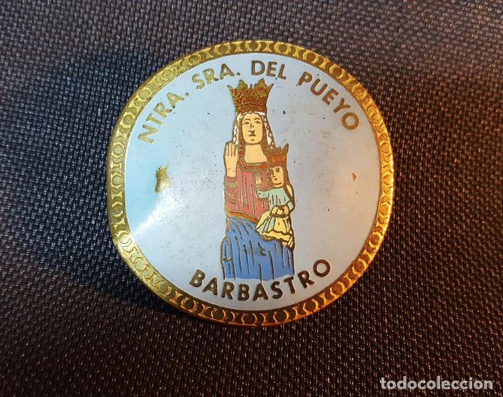 ESCUDO METALICO BARBASTRO PARA MOTO O COCHE (Coches y Motocicletas - Repuestos y Piezas (antiguos y clásicos))