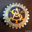 Coches y Motocicletas: ESCUDO METALICO PARA MOTO O COCHE AÑOS 50-60, SUIZA. Lote 160984174