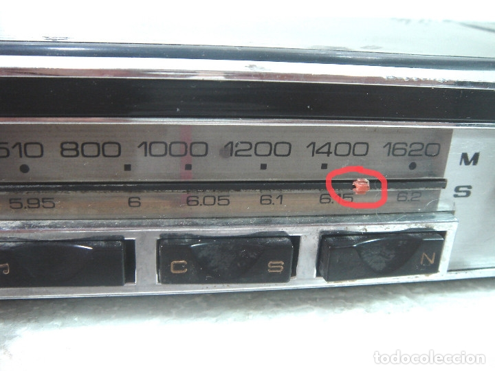 Coches y Motocicletas: AUTO RADIO COCHE CLASICO - SKREIBSON ART-21 - MADE IN SPAIN 1969- AUTORADIO ART21 - Foto 9 - 164080634