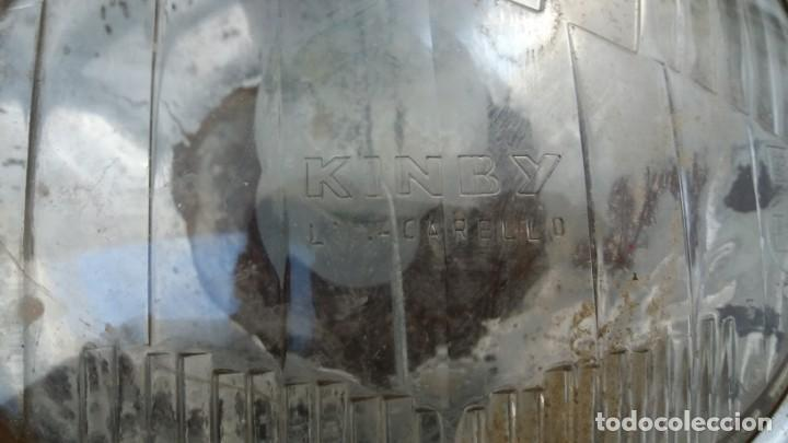 Coches y Motocicletas: Antiguo faro foco KINBY CARELLO redonda de coche Seat Renault Citroen Mini BMW Skoda Volkswagen - Foto 2 - 164706046