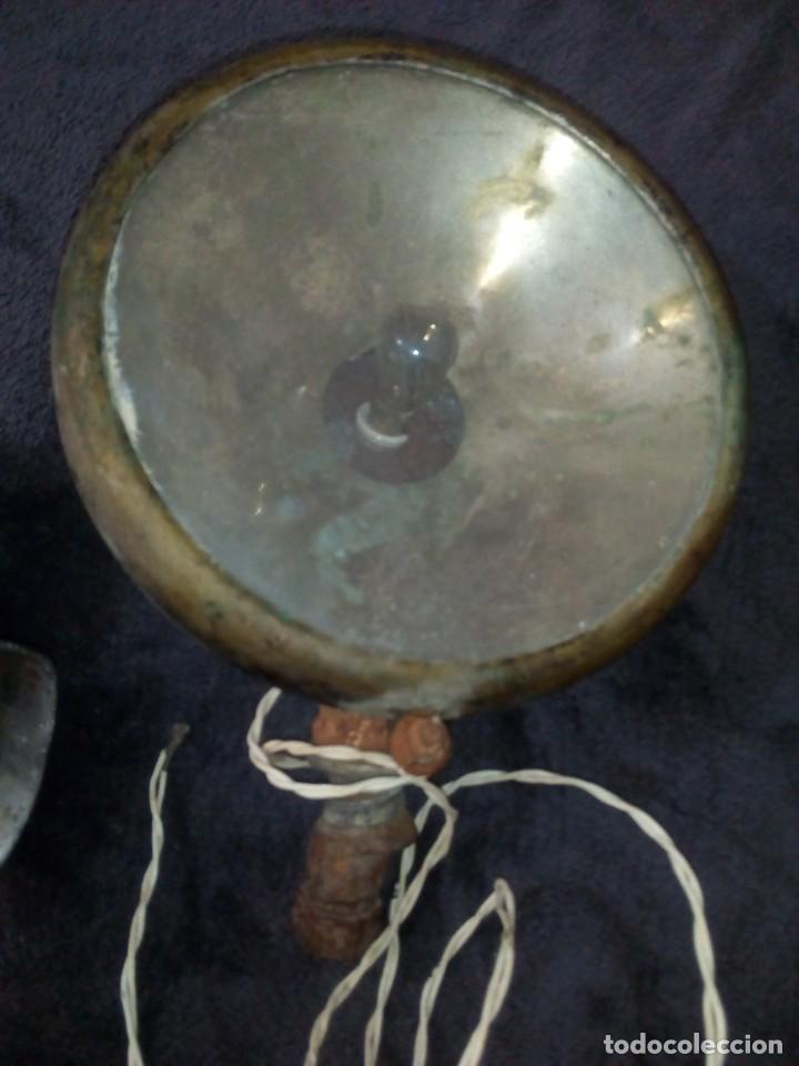Coches y Motocicletas: Bonito faro y trompeta de coche americano antiguo - Foto 4 - 164911450