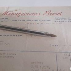Coches y Motocicletas: 1968 LUGOMANUFACTURAS BRESCI TAPIZADOS.MANTAS MOTOS MANOPLAS. Lote 166021161