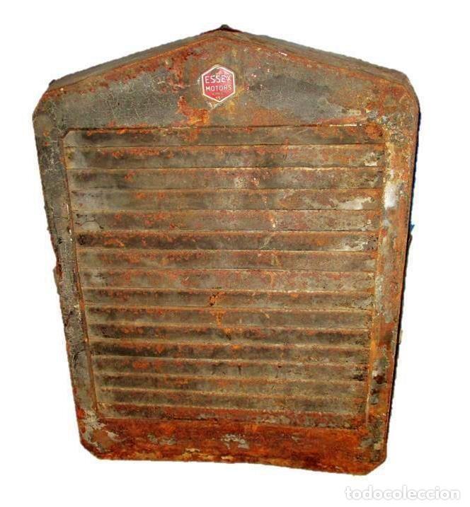 ESSEX RADIATOR GRILLE. PARRILLA DE RADIADOR ORIGINAL DE AUTOMÓVIL ESSEX DE LOS AÑOS 20/30. (Coches y Motocicletas - Repuestos y Piezas (antiguos y clásicos))