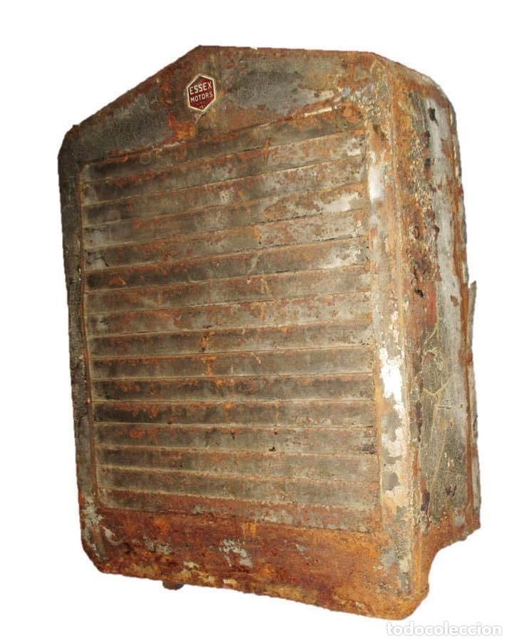 Coches y Motocicletas: ESSEX RADIATOR GRILLE. PARRILLA DE RADIADOR ORIGINAL DE AUTOMÓVIL ESSEX DE LOS AÑOS 20/30. - Foto 2 - 166119402