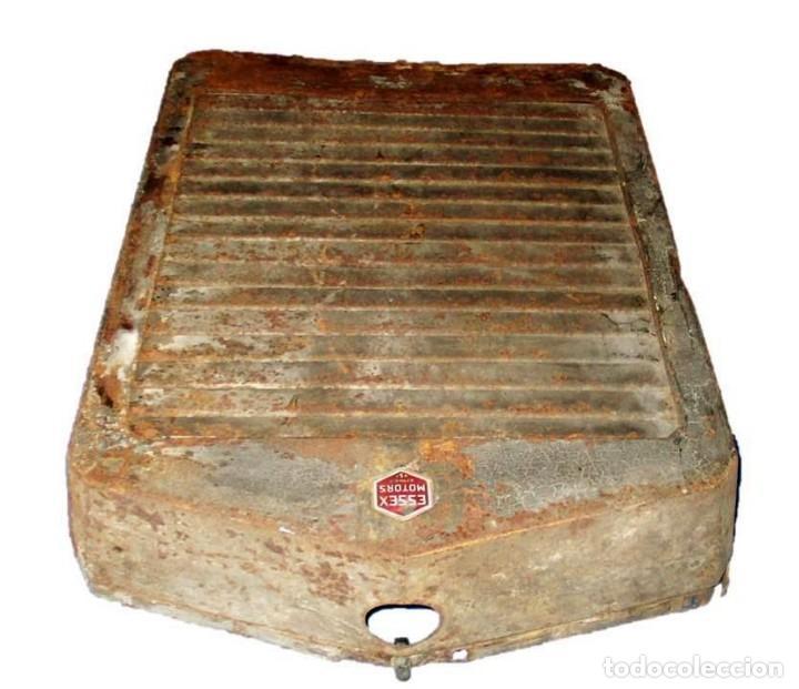 Coches y Motocicletas: ESSEX RADIATOR GRILLE. PARRILLA DE RADIADOR ORIGINAL DE AUTOMÓVIL ESSEX DE LOS AÑOS 20/30. - Foto 9 - 166119402