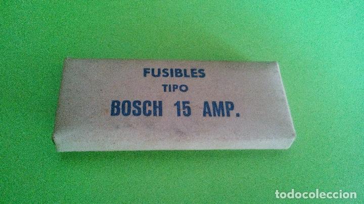 CAJA DE FUSIBLES TIPO BOSCH DE 15 AMPERIOS (Coches y Motocicletas - Repuestos y Piezas (antiguos y clásicos))