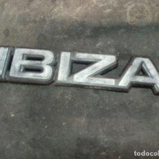 Coches y Motocicletas: EMBLEMA TRASERO SEAT IBIZA . Lote 167869360