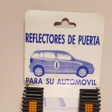 Coches y Motocicletas: REFLECTORES DE PUERTA PARA AUTOMOVIL.NUEVO.(VINTAGE). Lote 168866014