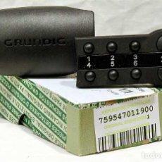 Coches y Motocicletas: CARÁTULA FRONTAL RADIO CASSETTE GRUNDIG WKC-1401 759547011900 WKC1401. Lote 169359184