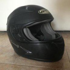 Coches y Motocicletas: CASCO PARA MOTOCICLETA - HX SAFETY TALLA M NEGRO. Lote 169616332