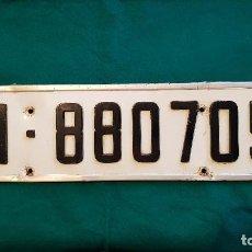 Automobili e Motociclette: MATRICULA DE MADRID (1970) EN RELIEVE. Lote 169659036