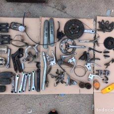 Coches y Motocicletas: LOTE DE RECAMBIOS MOTOCICLETAS DUCATI VESPINO TORROT GUZZI MONTESA MOBYLETTE DERBI OSSA BULTACO MÁS.. Lote 170127178