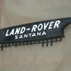 Coches y Motocicletas: LAND ROVER SANTANA. Lote 171027507
