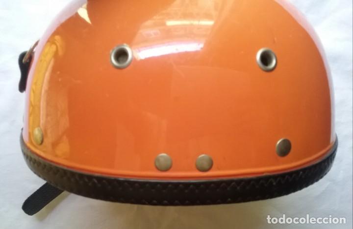 Coches y Motocicletas: CASCO MOTOCICLETA DURALEU FORTE SCOOTER VINTAGE AÑOS '70 - Foto 6 - 171145020