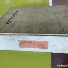 Coches y Motocicletas: CATALOGO TECNICO GENERAL DE TALLER CON NOTAS TECNICAS AÑOS 1981-1983 CITROEN. Lote 171696847