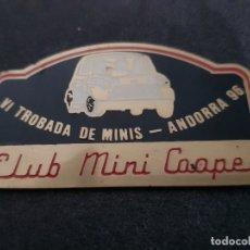 Coches y Motocicletas: CLUB MINI COOPER 1996. Lote 173443690