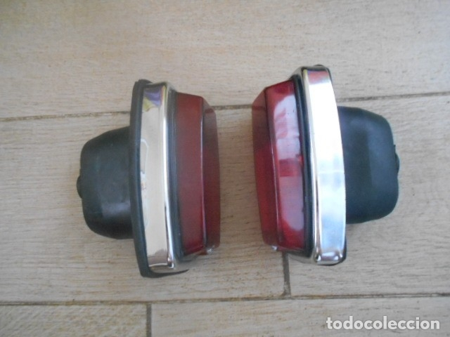 PILOTOS TRASEROS ROJOS 1 DERECHO + 1 IZQUIERDO (Coches y Motocicletas - Repuestos y Piezas (antiguos y clásicos))