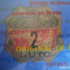 Coches y Motocicletas: (AUT-190901)PLACA AUTO VENDRELL N2. Lote 175316500