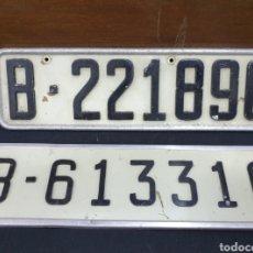 Coches y Motocicletas: MATRICULAS ANTIGUAS. Lote 175451077