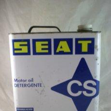 Coches y Motocicletas: LATA ACEITE CS SEAT 5L. Lote 175539789
