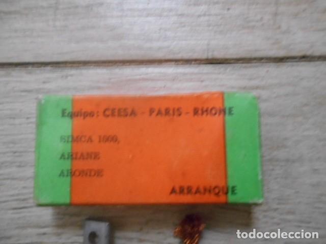 Coches y Motocicletas: ESCOBILLAS ARRANQUE SIMCA 1000 , AIANE , ARONDE - Foto 2 - 175561584